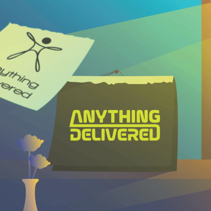 ANYTHING DELIVERD Branding
